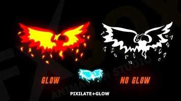 2D FX Fire Elements Motion Graphics Templates