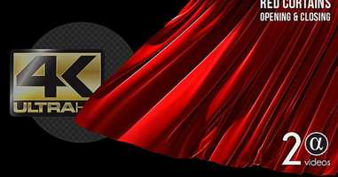 Free download 3D Realistic Red Curtains Opening  Closing Ver. 2 | Motion Graphics - Envato elements video and edit with RedcoolMedia movie maker MovieStudio video editor online and AudioStudio audio editor onlin