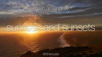 Free download Beautiful Sunrises and Sunsets Preview video and edit with RedcoolMedia movie maker MovieStudio video editor online and AudioStudio audio editor onlin