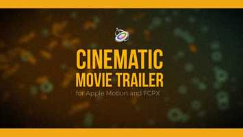 Free download Cinematic Movie Trailer for Apple Motion and FCPX | Apple Motion Files video and edit with RedcoolMedia movie maker MovieStudio video editor online and AudioStudio audio editor onlin