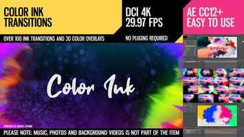 Free download Color Ink Transitions | After Effects Project Files - Videohive template video and edit with RedcoolMedia movie maker MovieStudio video editor online and AudioStudio audio editor onlin