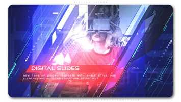 Free download Digital Slides | After Effects Project Files - Videohive template video and edit with RedcoolMedia movie maker MovieStudio video editor online and AudioStudio audio editor onlin
