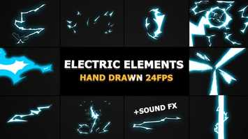 Free download Dynamic ELECTRIC Elements | Apple Motion Files video and edit with RedcoolMedia movie maker MovieStudio video editor online and AudioStudio audio editor onlin