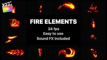 Free download Flash FX Fire Elemens | Apple Motion Files video and edit with RedcoolMedia movie maker MovieStudio video editor online and AudioStudio audio editor onlin