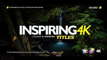Free download Inspiring Titles For Final Cut Pro X | Apple Motion Files video and edit with RedcoolMedia movie maker MovieStudio video editor online and AudioStudio audio editor onlin