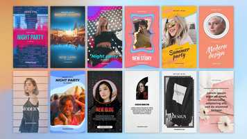 Free download Instagram Stories Pack 15 After Effects Templates video and edit with RedcoolMedia movie maker MovieStudio video editor online and AudioStudio audio editor onlin