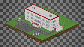 Free download Isometric Hospital Cartoon Loop Stock Motion Graphics video and edit with RedcoolMedia movie maker MovieStudio video editor online and AudioStudio audio editor onlin