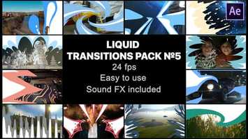 Free download Liquid Transitions Pack 05 | After Effects Project Files - Videohive template video and edit with RedcoolMedia movie maker MovieStudio video editor online and AudioStudio audio editor onlin