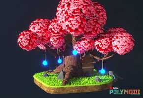 Free download Low-Poly Elf Tree House video and edit with RedcoolMedia movie maker MovieStudio video editor online and AudioStudio audio editor onlin