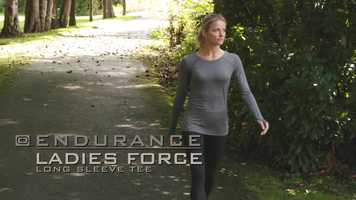 Free download OGIO  ENDURANCE Ladies Force Long Sleeve Tee LOE340 video and edit with RedcoolMedia movie maker MovieStudio video editor online and AudioStudio audio editor onlin