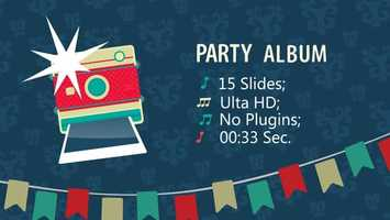 Free download Party Album | After Effects Project Files - Videohive template video and edit with RedcoolMedia movie maker MovieStudio video editor online and AudioStudio audio editor onlin
