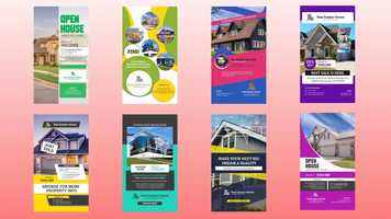 Real Estates Instagram Stories After Effects Templates