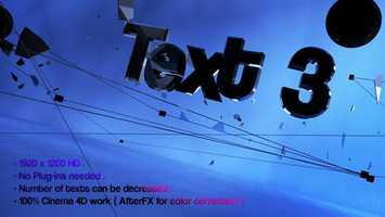 Free download Sci-Fi - Web Text Intro | Cinema 4D Templates - Videohive video and edit with RedcoolMedia movie maker MovieStudio video editor online and AudioStudio audio editor onlin