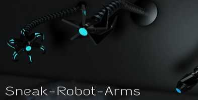 Free download Sneak Robot Arms | Cinema 4D Templates - Videohive video and edit with RedcoolMedia movie maker MovieStudio video editor online and AudioStudio audio editor onlin