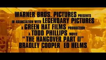 Free download The Hangover Part II - Trailer video and edit with RedcoolMedia movie maker MovieStudio video editor online and AudioStudio audio editor onlin