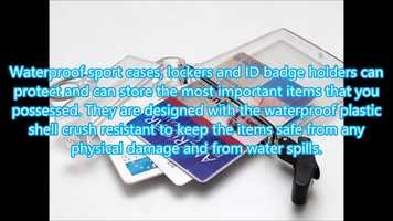 Free download Waterproof Sport Cases Badge Holder video and edit with RedcoolMedia movie maker MovieStudio video editor online and AudioStudio audio editor onlin