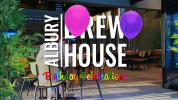 Free download Albury Brewhouse First Birthday Celebrations 2019 video and edit with RedcoolMedia movie maker MovieStudio video editor online and AudioStudio audio editor onlin