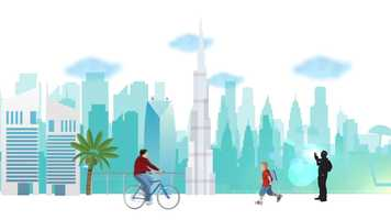 Free download Car Free Day 2016 - Dubai Municipality Awareness Campaign video and edit with RedcoolMedia movie maker MovieStudio video editor online and AudioStudio audio editor onlin