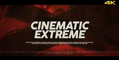 Free download Cinematic Extreme Trailer/Opener Motion Design video and edit with RedcoolMedia movie maker MovieStudio video editor online and AudioStudio audio editor onlin