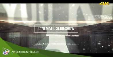 Free download Cinematic Slideshow - Apple Motion Motion Design video and edit with RedcoolMedia movie maker MovieStudio video editor online and AudioStudio audio editor onlin