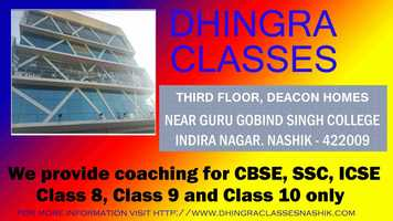 Free download #Class8 #Class9 #Class10 #coachingcenter #NashikNews - Dhingra Classes Nashik video and edit with RedcoolMedia movie maker MovieStudio video editor online and AudioStudio audio editor onlin