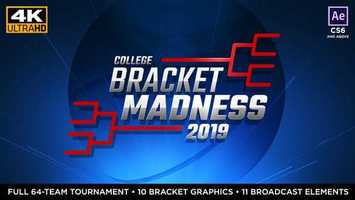 Free download College Basketball Bracket Madness - After Effects video and edit with RedcoolMedia movie maker MovieStudio video editor online and AudioStudio audio editor onlin