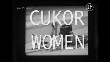 Free download Cukor Women video and edit with RedcoolMedia movie maker MovieStudio video editor online and AudioStudio audio editor onlin