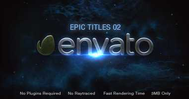 Free download Epic Titles 02 | After Effects Titles - Envato elements video and edit with RedcoolMedia movie maker MovieStudio video editor online and AudioStudio audio editor onlin