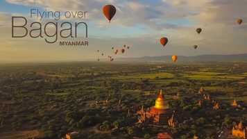 Free download Flying over Bagan, Myanmar video and edit with RedcoolMedia movie maker MovieStudio video editor online and AudioStudio audio editor onlin