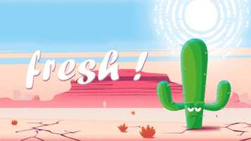 Free download Fresh ! A short cactus story video and edit with RedcoolMedia movie maker MovieStudio video editor online and AudioStudio audio editor onlin