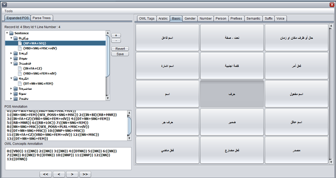 Information Extraction from Arabic Text
