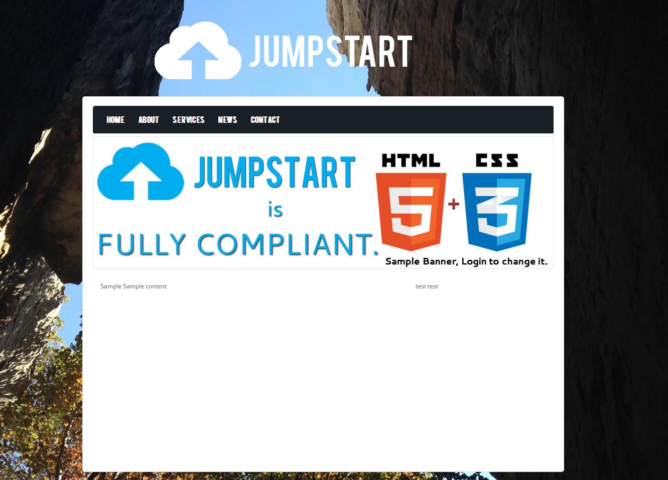 Jumpstart CMS