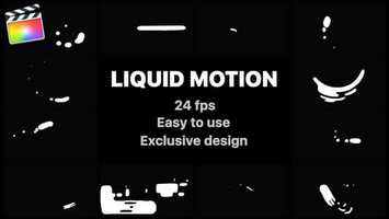 Free download Liquid Motion Shapes | Apple Motion Files video and edit with RedcoolMedia movie maker MovieStudio video editor online and AudioStudio audio editor onlin