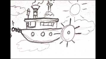 Free download Steampunk Steamboat Rough Animatic video and edit with RedcoolMedia movie maker MovieStudio video editor online and AudioStudio audio editor onlin