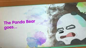 Free download We Bare Bears - Story Book 20 Secs. video and edit with RedcoolMedia movie maker MovieStudio video editor online and AudioStudio audio editor onlin