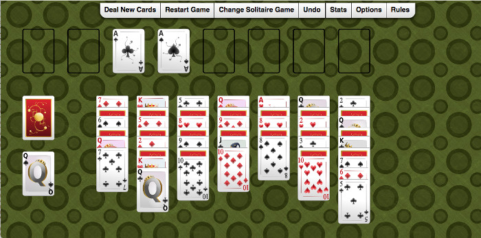 SolitaireKing collection of Solitaire games