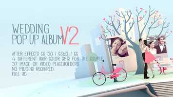 Free download Wedding Pop Up Album | After Effects Project Files - Videohive template video and edit with RedcoolMedia movie maker MovieStudio video editor online and AudioStudio audio editor onlin