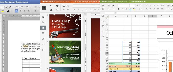 OfficeWork office web app for XLS, DOC, PPT - RedcoolMedia