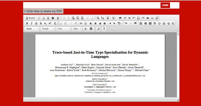 PDFOffice PDF editor online for Adobe documents