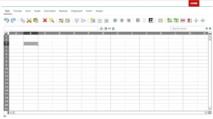 Use free TopXLS Excel editor with Ethercalc online