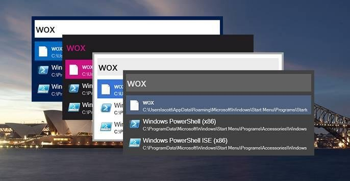 Download web tool or web app Wox